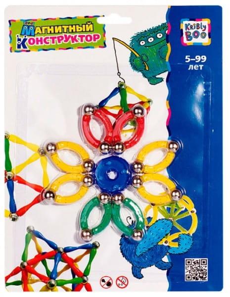 Купить Магнитный конструктор Kribly Boo Фигуры 4 в интернет магазине игрушек и детских товаров