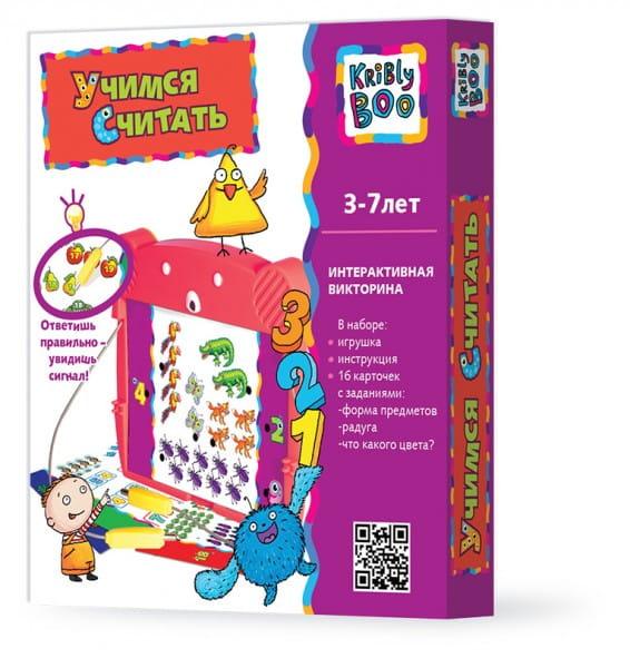 Купить Электровикторина Kribly Boo Счет в интернет магазине игрушек и детских товаров