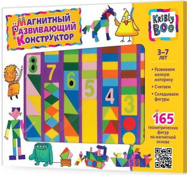 Купить Магнитный конструктор Kribly Boo 2 (165 деталей) в интернет магазине игрушек и детских товаров