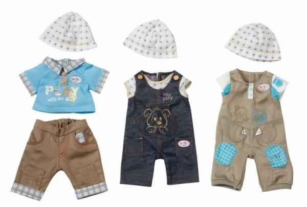 Купить Джинсовая одежда для мальчика Baby born (Zapf Creation) в интернет магазине игрушек и детских товаров