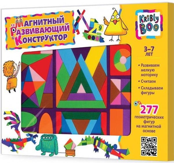 Купить Магнитный конструктор Kribly Boo (277 деталей) в интернет магазине игрушек и детских товаров