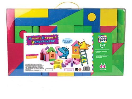 Купить Мягкий конструктор Kribly Boo (44 детали) в интернет магазине игрушек и детских товаров