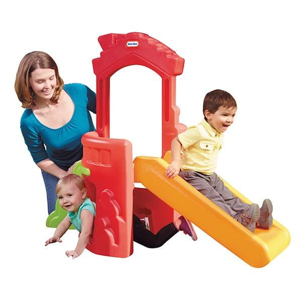 Купить Игровой комплекс Little Tikes с горкой в интернет магазине игрушек и детских товаров