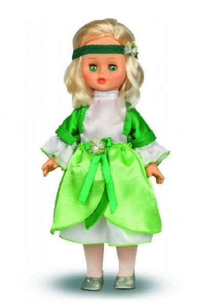 Купить Кукла Весна Оля - Фея свежей зелени (со звуком) в интернет магазине игрушек и детских товаров