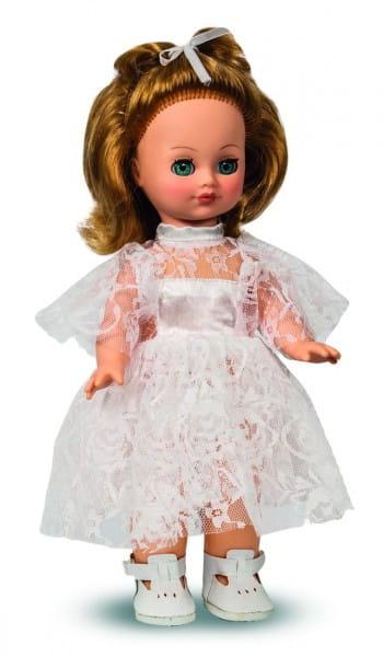 Купить Кукла Весна Лена в кружевном платье - 35 см (со звуком) в интернет магазине игрушек и детских товаров
