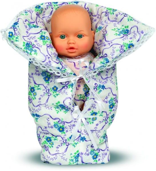 Пупс Весна В1497/С1497 Малышка в голубом конверте - 32 см