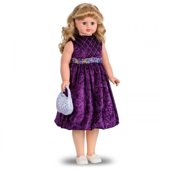 Кукла Весна Снежана в бархатном платье (со звуком)