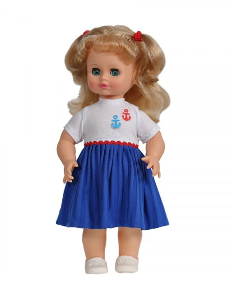 Кукла Весна Инна в плиссированном платье (со звуком)