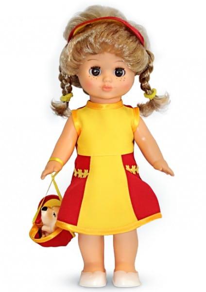 Кукла Весна В1790/о/С1790/о Настя в желтом платье - 30 см (со звуком)