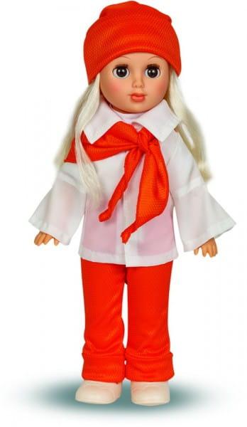 Кукла Весна Алла с красным шарфиком - 35 см