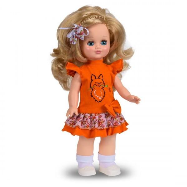 Кукла Весна Наталья в вязанном костюмчике - 35 см (со звуком)
