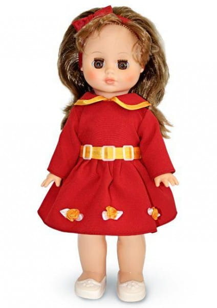 Кукла ВЕСНА Жанна в красном платье - 36 см (со звуком)