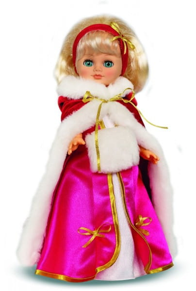 Кукла Весна В1885/о/С1885/о Герда в розовом (со звуком)