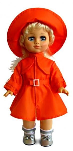 Кукла Весна Олеся в ярком плащике - 35 см (со звуком)
