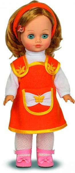 Кукла ВЕСНА Наталья в оранжевом сарафане - 35 см (со звуком)