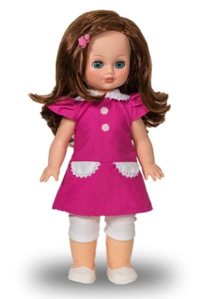 Купить Кукла Весна Элла в платье цвета фуксии (со звуком) в интернет магазине игрушек и детских товаров