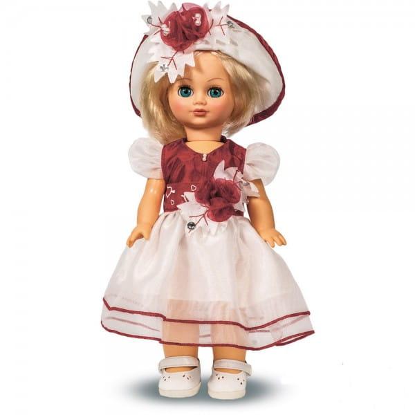 Купить Кукла Весна Элла в красном платье - 35 см (со звуком) в интернет магазине игрушек и детских товаров