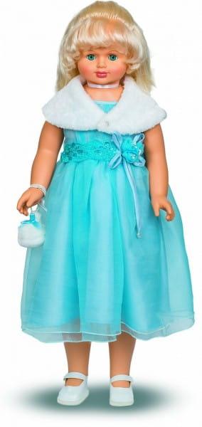 Кукла ходячая Весна Снежана в голубом платье - 87 см (со звуком)