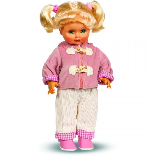 Кукла ВЕСНА Инна в розовой курточке 2 - 43 см (со звуком)
