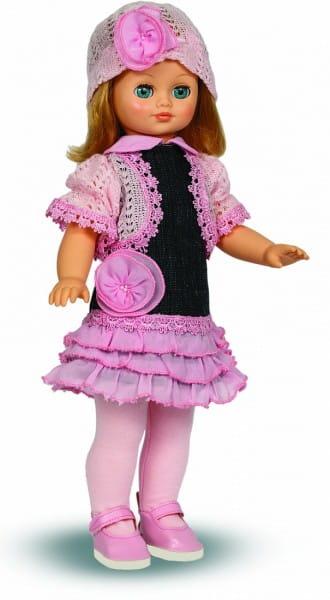 Кукла ВЕСНА Лиза в вязанном костюме (со звуком)