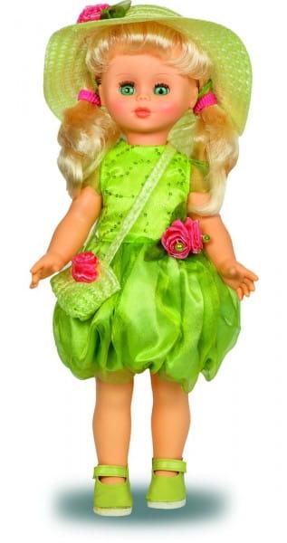 Кукла Весна Оля в шифоновом зеленом платье (со звуком)