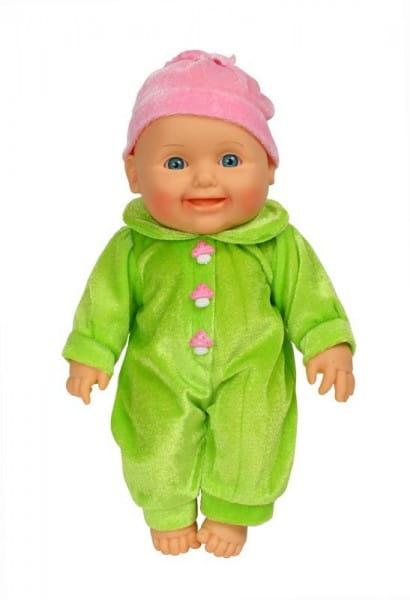 Пупс Весна В2193 Малышка в зеленом комбинезоне - 31 см