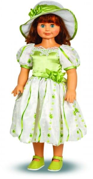 Кукла Весна Милана в зеленом цветочном платье - 70 см (со звуком)