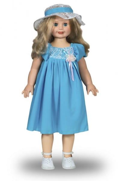Купить Кукла Весна Милана в голубом платье - 70 см (со звуком) в интернет магазине игрушек и детских товаров