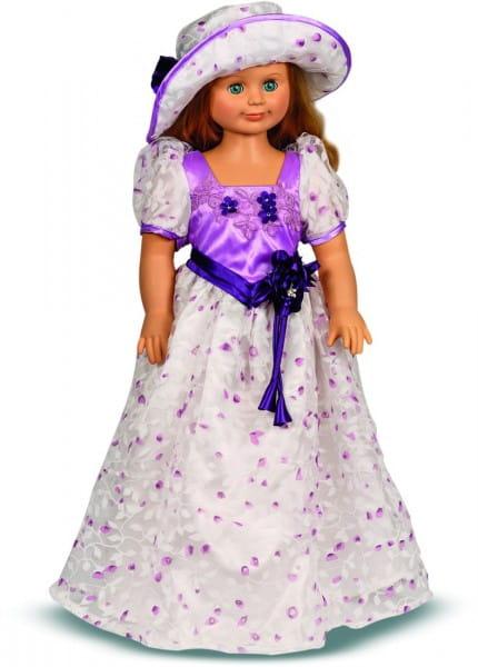 Кукла Весна Милана в фиолетовом цветочном платье - 70 см (со звуком)
