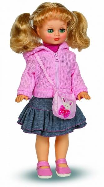 Кукла ВЕСНА Лиза в розовом кардигане (со звуком)