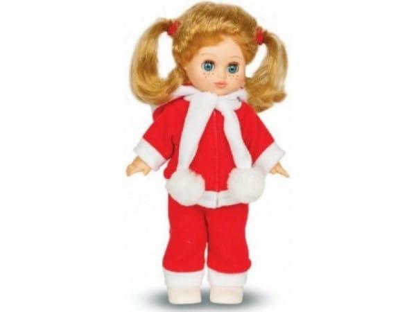 Кукла ВЕСНА Настя в зимнем наряде (со звуком)