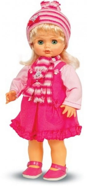 Купить Кукла Весна Инна в шарфике (со звуком) в интернет магазине игрушек и детских товаров