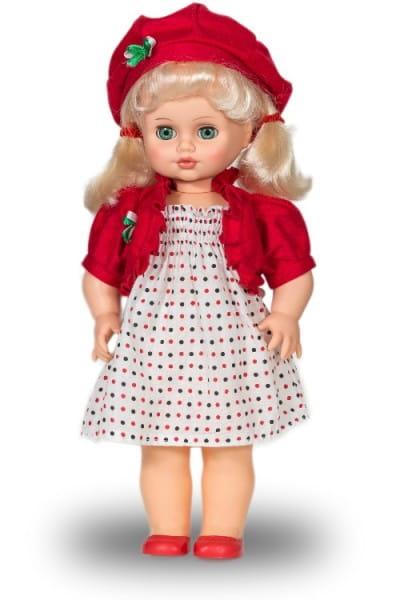 Кукла Весна Инна в платье в горошек (со звуком)
