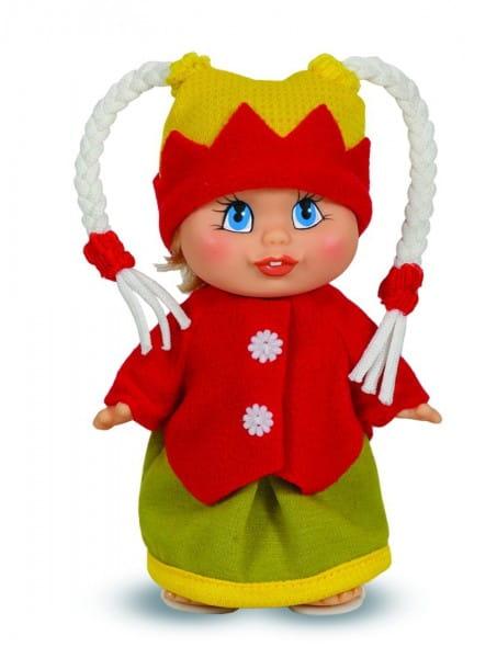 Кукла Весна Женька с косичками (в шапке)