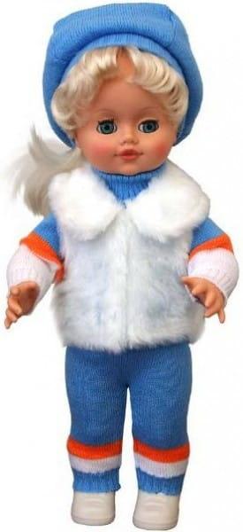 Кукла ВЕСНА Инна в белоснежной меховой накидке - 43 см (со звуком)