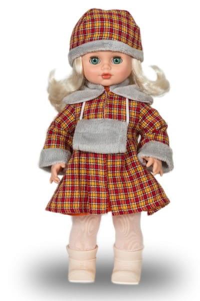 Кукла Весна Инна в клетчатом пальто - 43 см (со звуком)