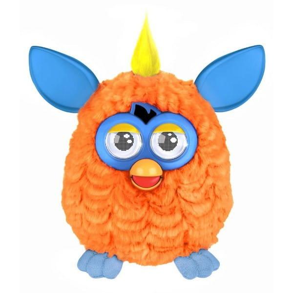 Купить Интерактивная игрушка Furby (Ферби) с хохолком оранжево-голубой (Hasbro) в интернет магазине игрушек и детских товаров