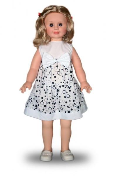 Кукла Весна Милана в белом платье с бантом - 70 см (со звуком)
