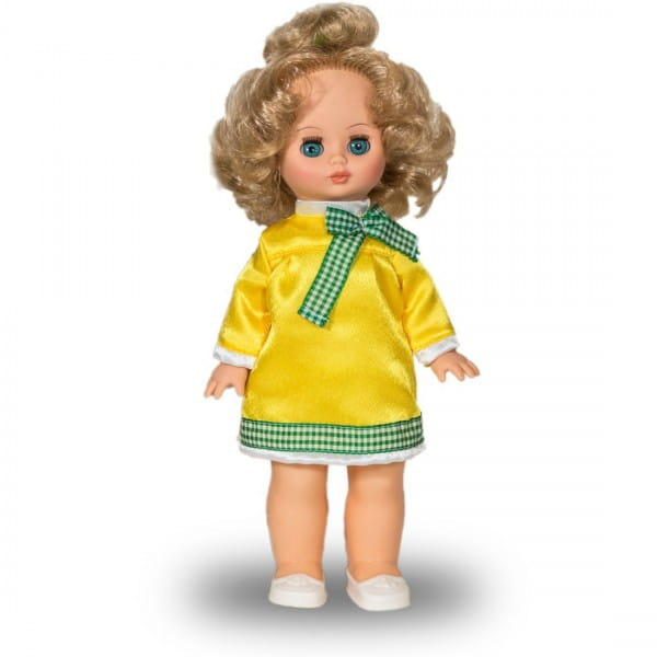 Кукла ВЕСНА Жанна в лимонном платье (со звуком)
