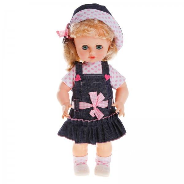 Кукла Весна Инна в джинсовом сарафане - 43 см (со звуком)
