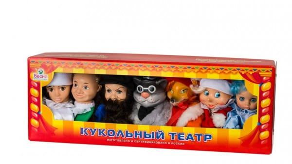 Игровой набор Весна Кукольный театр 2