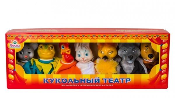 Игровой набор Весна В2800 Кукольный театр - Теремок