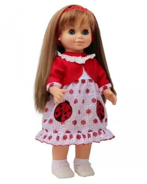 Кукла Весна Анна в платье с божьими коровками (со звуком)