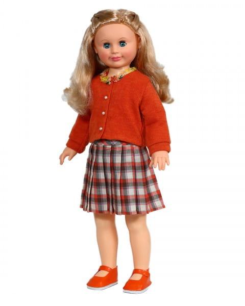 Купить Кукла Весна Милана в плиссированной клетчатой юбочке - 70 см (со звуком) в интернет магазине игрушек и детских товаров