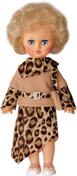 Кукла Весна Алла в леопардовом платье - 35 см