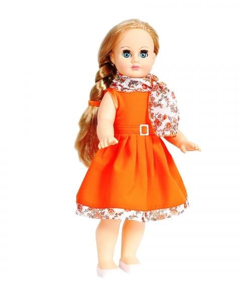 Кукла Весна Марта в платьице оранжевого цвета - 40 см (со звуком)