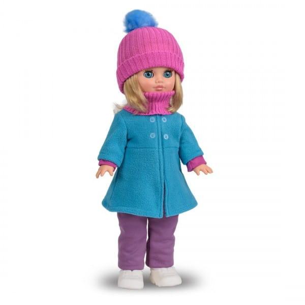 Кукла Весна Герда в пальто из флиса (со звуком)