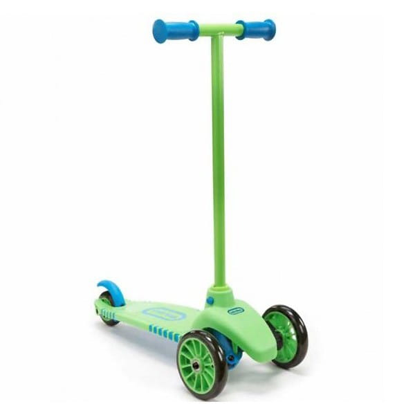 Самокат Little Tikes 640117 - зелено-голубой