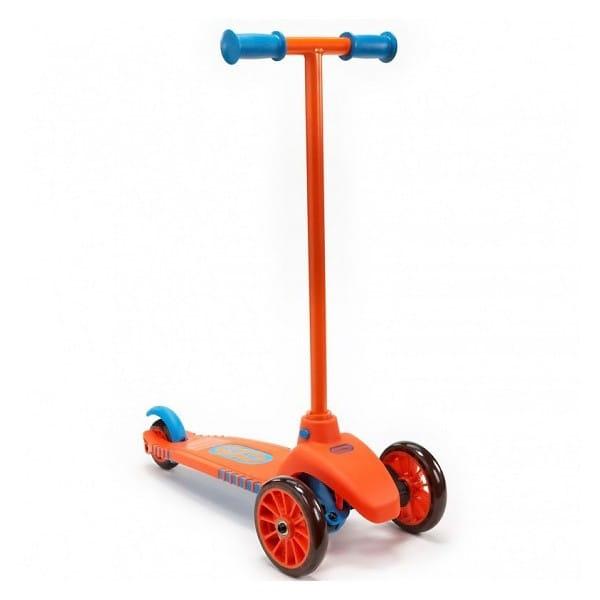 Самокат Little Tikes 640124 - оранжево-голубой
