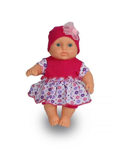 Купить Пупс Весна Карапуз в комбинезоне из трикотажа с юбочкой - 20 см в интернет магазине игрушек и детских товаров